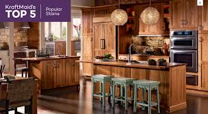 most popular kitchen cabinets top 5 s kraftmaid s most popular kitchen cabinet stains kraftmaid