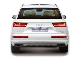 audi price in india audi q7 design edition launched in india launch price and