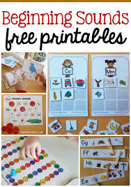 free beginning sounds worksheets updated the measured mom