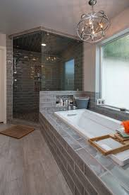 Bathroom Remodel Ideas Before And After Magnificent Master Bath Remodel Design Without Tub On Budget
