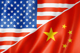 Flags Us Usa And China Flag Republic 3 0
