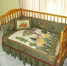 baby wrangler crib bedding cabin place
