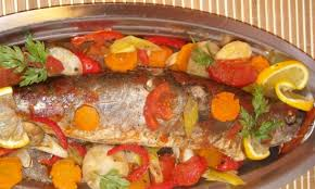 cuisine poisson poisson au four cuisine marocaine cuisine poissons coquillage