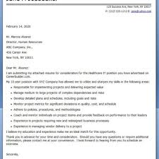 It Job Cover Letter Sample Cover Letters For It Choice Image Cover Letter Ideas