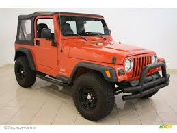 orange jeep rubicon 2006 impact orange jeep wrangler se 4x4 36347620 gtcarlot com