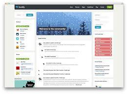 best buddypress wordpress themes for community sites 2017 colorlib