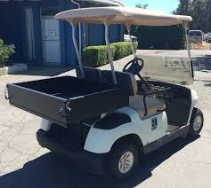 box cart refurbished 2005 yamaha g22 electric utility cart with utility box