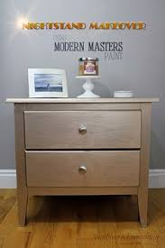 Masters Filing Cabinet Quick Nightstand Makeover Using Modern Masters Paint Nightstands