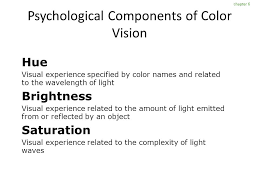 Color Blindness Psychology Psychological Dimensions Ppt Online Download