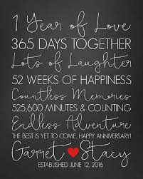 message to my husband on our wedding anniversary anniversary paper anniversary gift 1 year happy