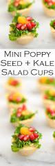 thanksgiving salad mini poppy seed pomegranate kale salad appetizer luci u0027s morsels