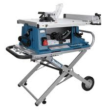 makita portable table saw makita 15 amp 10 in corded contractor table saw with portable stand