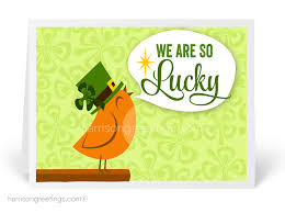 business st patrick u0027s day greeting cards