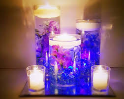 Wedding Centerpieces Floating Candles And Flowers by Wedding Centerpiece Floating Candle Centerpiece Orchid Floating