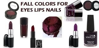 lips nails u0026 eyes 9 trending makeup colors for fall 2015 hair