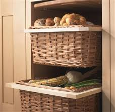 Baskets For Bookshelves Wicker Basket Drawers With Handles And Runners Kitchens