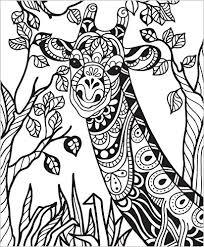 colorit wild animals coloring book premium hardcover