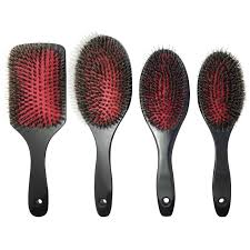 goody hair goody bristle hair brush real bristle for styler hair