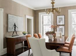 Neutral Dining Rooms 2017 Grasscloth Wallpaper Living Room Best Console Living Room Design How To Console Living