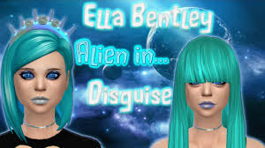 turquoise bentley the sims 4 create a sim alien in disguise ella bentley youtube