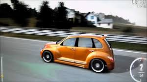 forza 4 chrysler pt cruiser pimped out nurburgring youtube