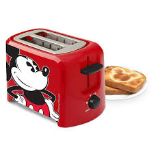 Best 2 Slice Toaster Mickey Mouse 2 Slice Toaster Best Kitchen And Dinnerware From
