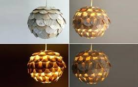 Cardboard Pendant Light Recycled Pendant Lights Sun Recycled Ceiling Pendant Light Extra