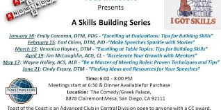toastmasters table topics tips toast of the coast skills building series excelling at table
