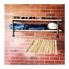 Etsy Laundry Room Decor by Diy Industrial Farmhouse Shelving In The New House Designs Loversiq