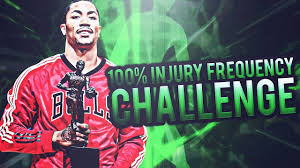 Challenge Injury This Is Impossible 100 Injury Frequency Challenge Nba 2k17