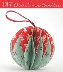 Paper Mache Christmas Crafts - how to make woodland animal ornaments using sharpies ornament