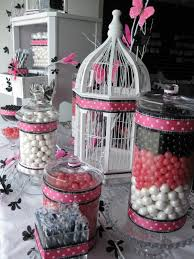 Pink And Black Candy Buffet by 309 Best Candy Buffet Ideas Images On Pinterest Candies