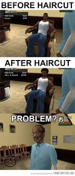 Gta Memes - gta barber gta laughter and funny pictures