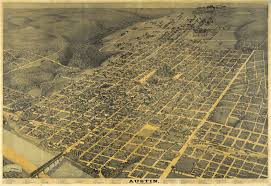 Map Of Downtown Austin by Historical Maps Of Austin Bryker Woods Neighborhood