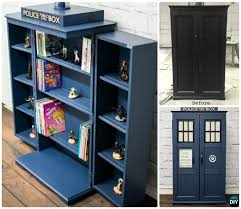 Bookcase Plan Diy Tardis Bookshelf Projects Picture Instructions