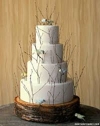 Tree Decorations For Cakes Twigs And Branches Wedding Ideas Martha Stewart Weddings