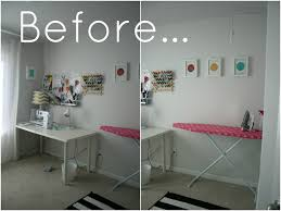 Sewing Room Decor Office Sewing Room Before Furniture Mommyessence