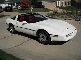 white corvette interior 1985 white corvette with interior automatic targa top