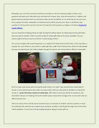 the of giving and receiving charity gifts