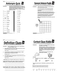 context clues worksheets by splash publications tpt