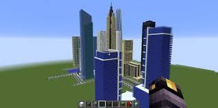 New York City Minecraft Map by Minecraft Project My Minecraft City Skyscrapercity