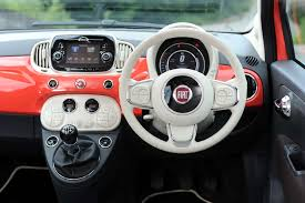 fiat convertible fiat 500 convertible review carzone new car review