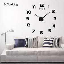 Modern Clocks For Kitchen by Compare Prices On Modern Clock Online Shopping Buy Low Price