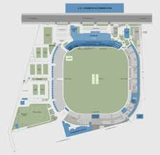 Stadium Floor Plans The Cricket Club Of India