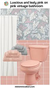 Pink Tile Bathroom 13 Ideas To Decorate An All Pink Tile Bathroom Retro Renovation