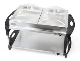 Buffet Server With Warming Tray by Buy Low Price Nostalgia Electrics Dcd 400 Double Decker Buffet