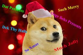 Christmas Doge Meme - doge xmas imgur