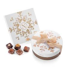 exclusive christmas chocolate gift duo for delivery in the us