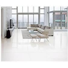 Polished Porcelain Floor Tiles China Foshan 60x60 Carrara White Double Loading Polished Porcelain