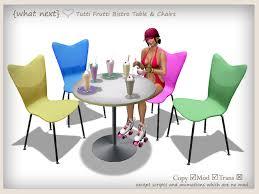 Next Bistro Table What Next Tutti Frutti Bistro Set